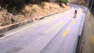 South America downhill