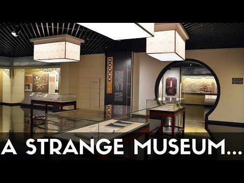 STRANGEST MUSEUM - Exploring Nanjing Museums, Brocade & Dream Of Red Chamber (南京)