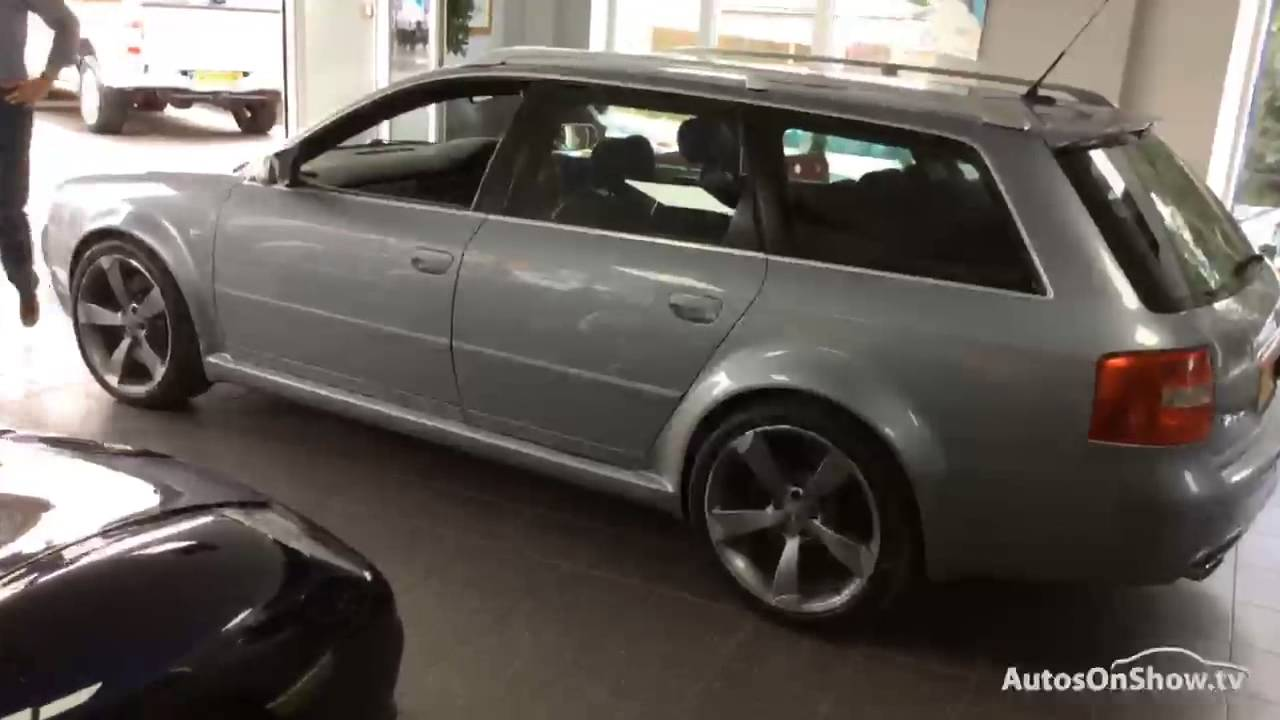 2003 Audi A6 Rs6 Avant Quattro Youtube