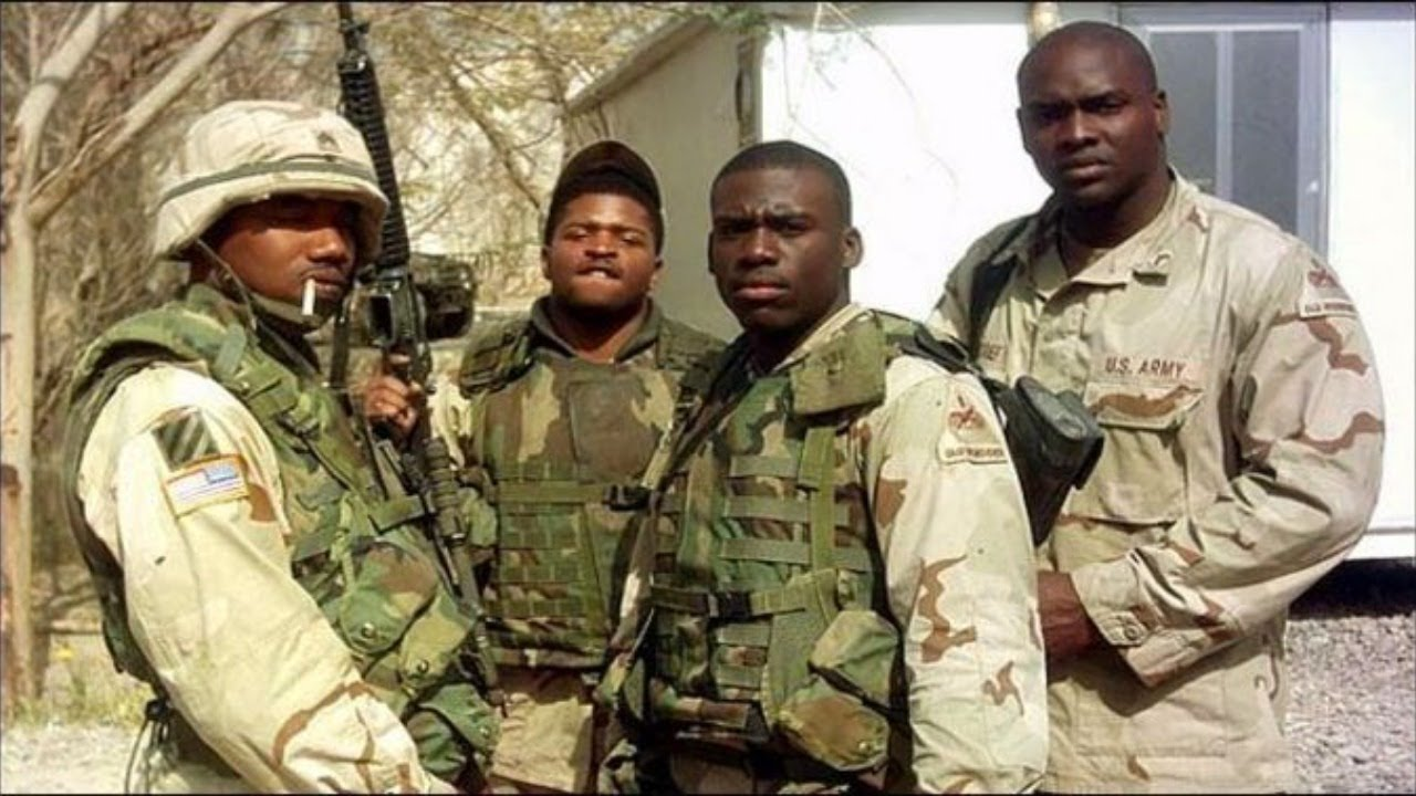 Salute To The Black Soldiers