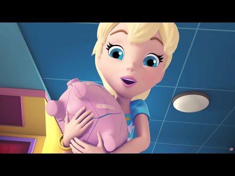 Polly Pocket | This Little Piggy Bank | Cartoons for Children | Kids TV Shows Full Episodes