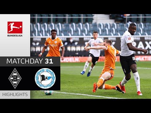 Borussia Moenchengladbach Arminia Bielefeld Goals And Highlights