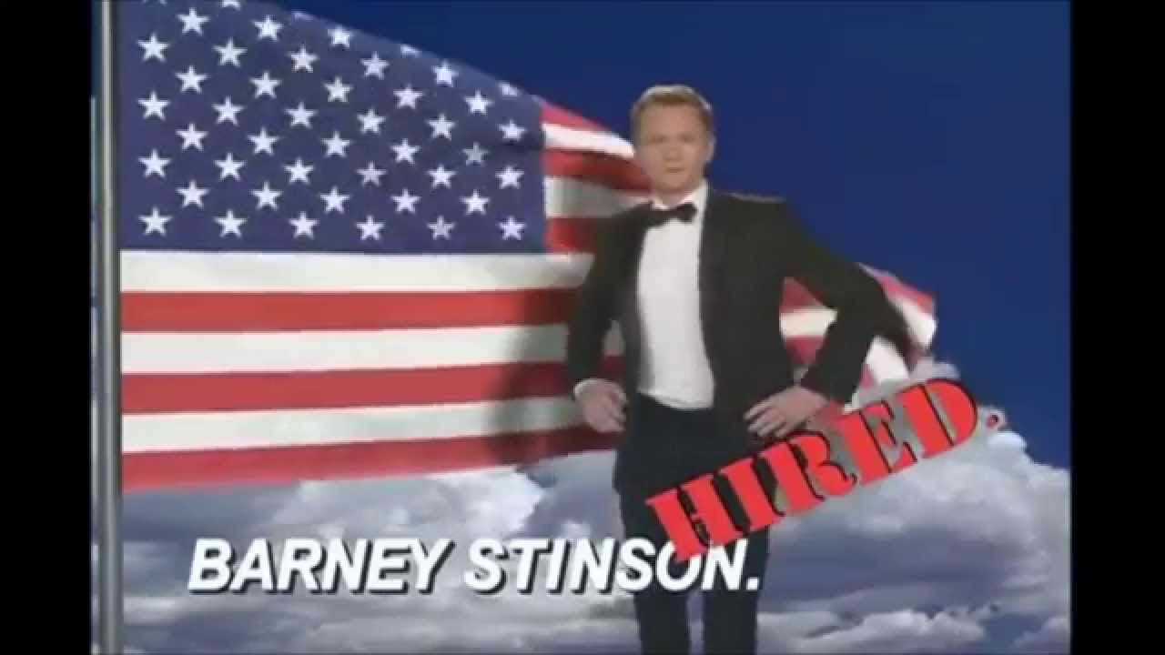 barney stinson - video cv