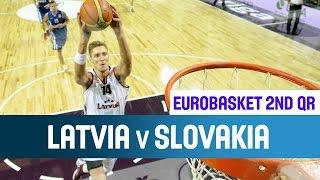Latvia v Slovakia - Highlights - 2nd Qualifying Round - EuroBasket 2015