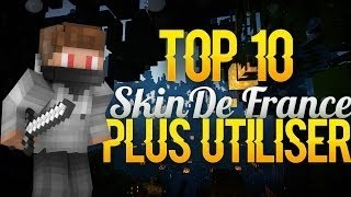 TOP 10 : Skins Minecraft les plus utilisés de France !