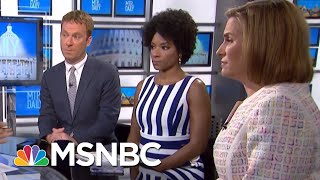 Children Heard Crying In Obtained Audio Of Migrant Detention Center | MTP Daily | MSNBC thumbnail