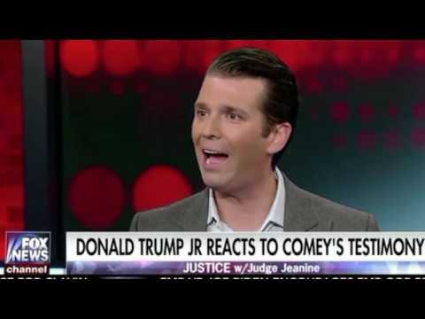 Donald Trump Jr on Comey