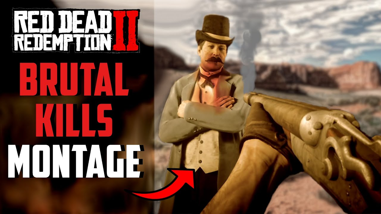 RED DEAD REDEMPTION 2 | Brutal Kills in FIRST PERSON (GRAPHIC 18+)
