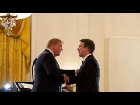 Trump doubles down on Kavanaugh ahead of hearing