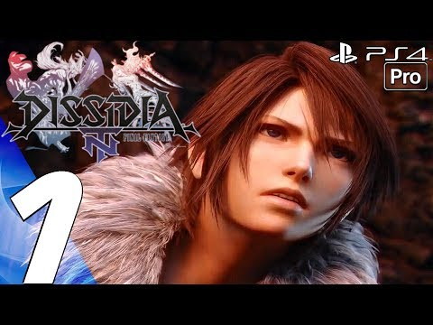 Dissidia Final Fantasy NT - English Walkthrough Part 1 - Story Campaign (PS4 PRO) Full Game