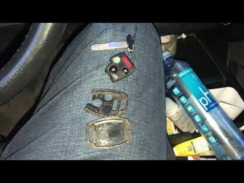 Honda BROKEN KEY EMERGENCY START flashing green key, easy fix