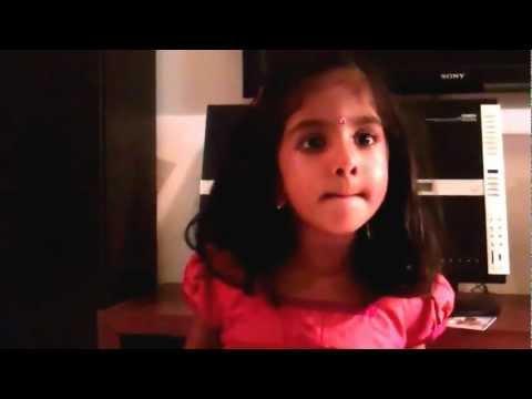 3 Year Old Shruti Chanting Gita Chapter 12