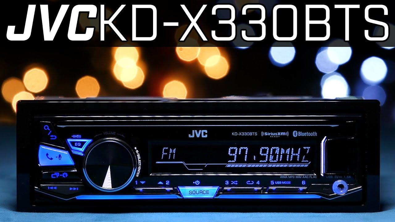 Jvc Kd X330bts Single Din Radio