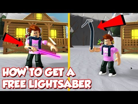 (Code) HOW TO GET A FREE LIGHTSABER AND ICE TOOLS In Snow Shoveling Simulator - Roblox
