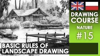 Landscape drawing - basic rules | Rysowanie krajobrazów - podstawowe zasady [S02E15 ENG/PL]