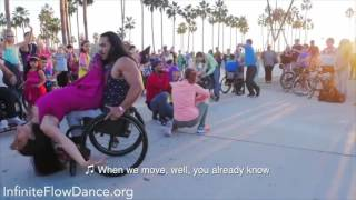 #InfiniteInclusion Flashmob by Infinite Flow   A Wheelchair Dance Company