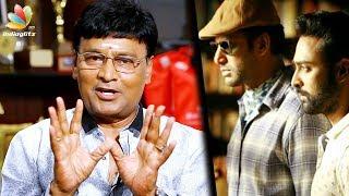 For the first time I didn't talk in my film: Bhagyaraj Interview | Vishal Thupparivalan
