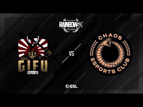 GiFu eSports vs. Chaos – Consulate – Rainbow Six Pro League – Season X – EU