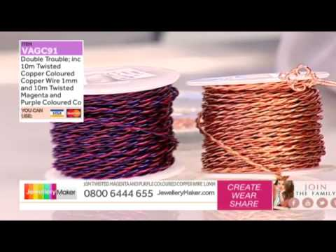 How to make Gemstone Jewellery - JewelleryMaker LIVE (AM) 02/09/2014