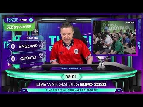 GOLDBRIDGE Best Bits | England 1-0 Croatia | EURO 2020