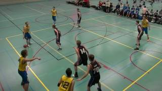 10 december 2016 Cobranova U20 vs Rivertrotters U20 57-48 1st period