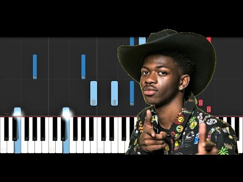 Lil Nas X ft Billy Ray Cyrus - Old Town Road Piano Tutorial
