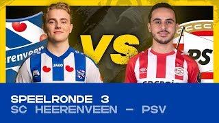 EDIVISIE | Speelronde 3: sc Heerenveen - PSV