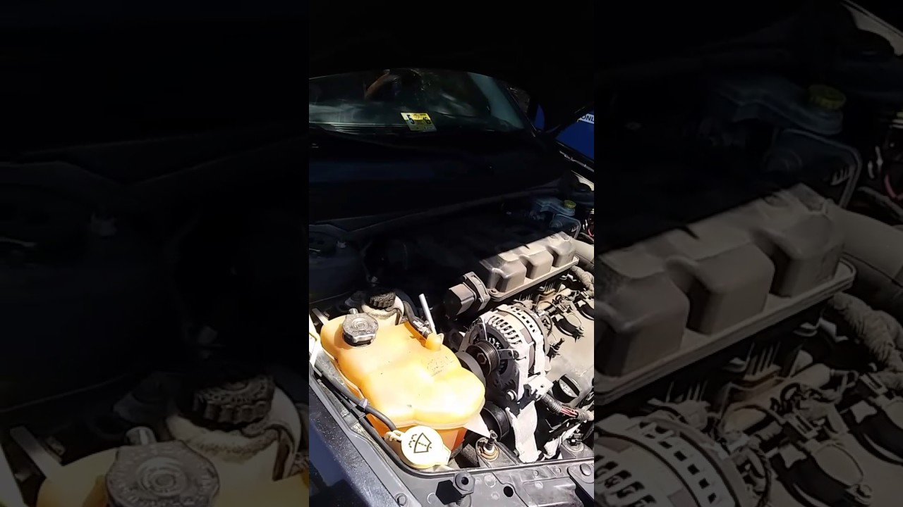 hight resolution of how to change the alternator on a 2008 dodge avenger r t 3 5