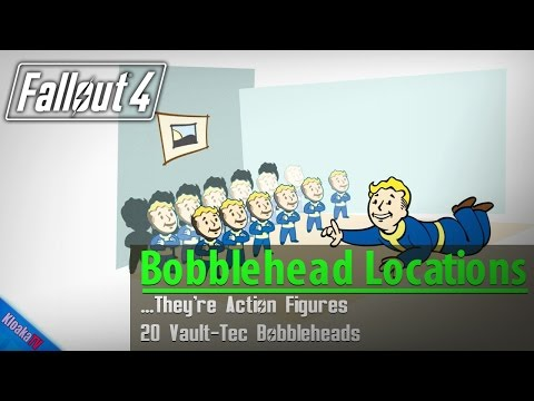 Fallout 4 - All 20 Bobblehead Locations Guide …They're Action Figures