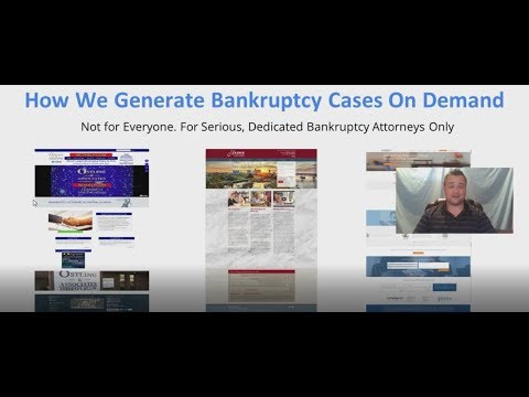 Bankruptcy Attorney Lead Generation - Pay Per Lead