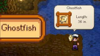WHERE AND HOW TO CATCH GHOSTFISH Stardew Valley
