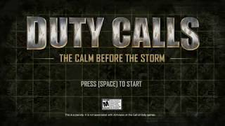Duty Calls: The Calm Before the Storm (Bulletstorm promo game)