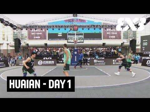 LIVE 🔴 - FIBA 3x3 Huaian Challenger 2018 - Day 1 - Huai'an, China