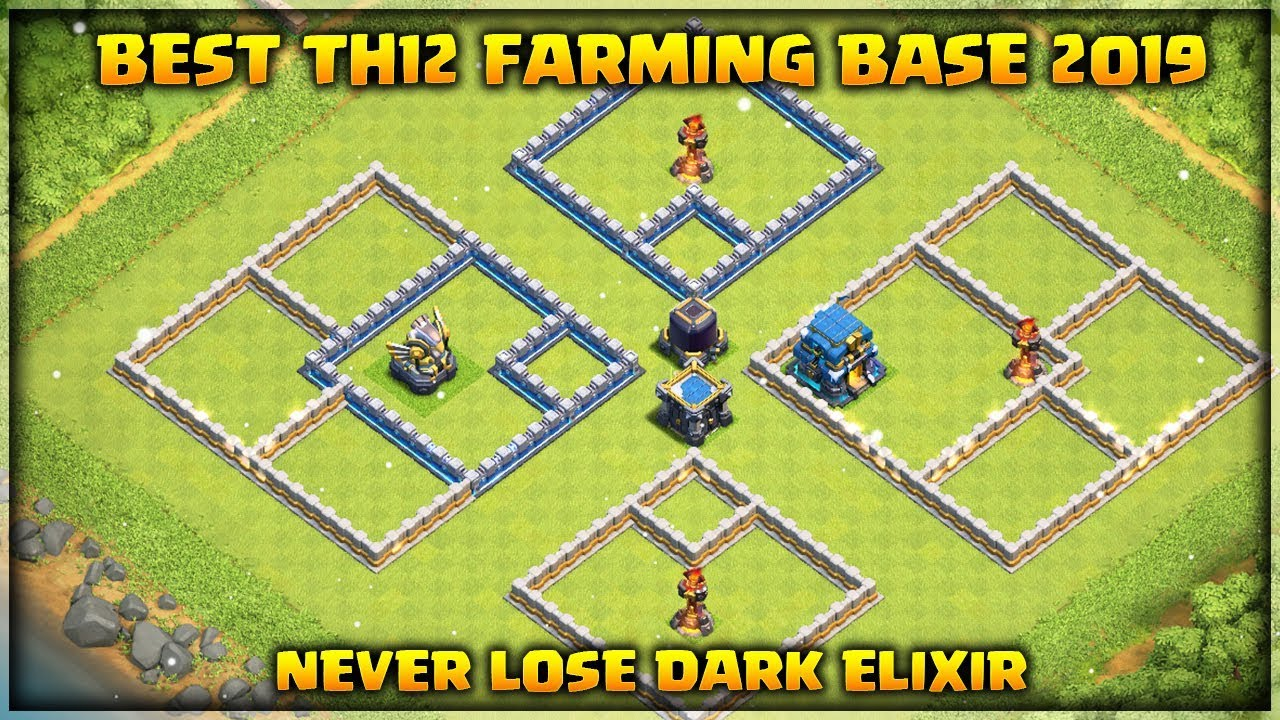 Unbeatable Best Th12 Farming Base 2019 5