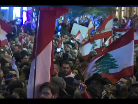 Lebanese protesters defiantly return to streets following crackdown