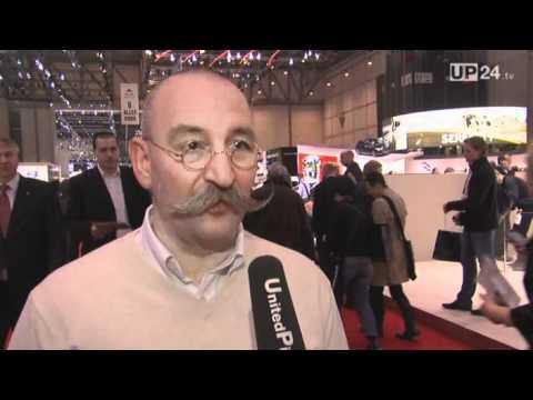 Genf 2011: Starkoch Horst Lichter mag's elektrisch