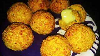 Cheese chicken balls | chicken and cheese balls | cheese shorts | Cheese chicken pakora |