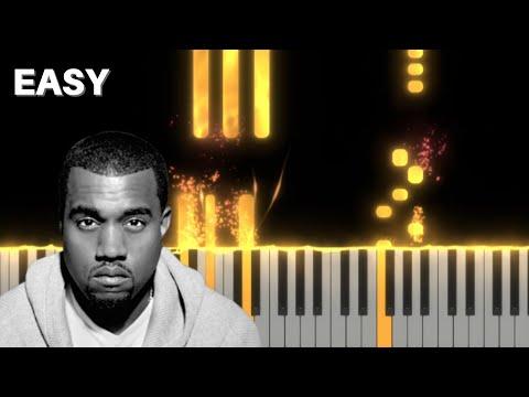 Kanye West – Moon – EASY Piano Tutorial
