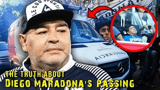 The Disturbing Truth of Maradona's Passing