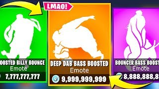 These Emotes Sound Better *BASS BOOSTED* - Fortnite Battle Royale