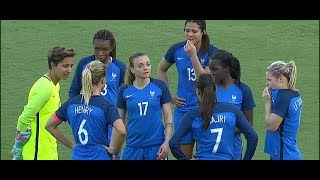 (1) France vs Germany 3.7.2018 / SheBelieves Cup 2018