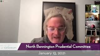 North Bennington Prudential Committee Meeting // 01/13/21