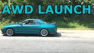 JDM R32 Launch at 6500 RPMs !!!!