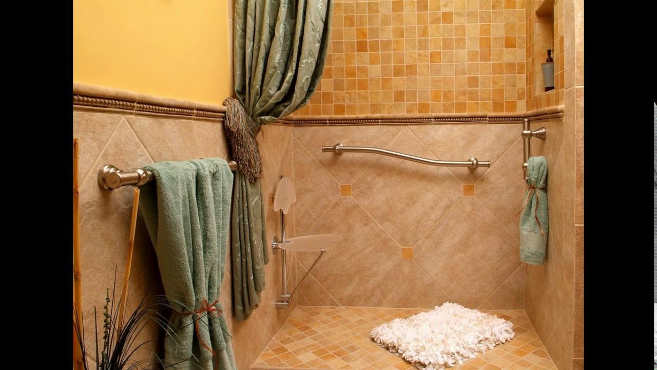 Bathroom design for elderly - YouTube