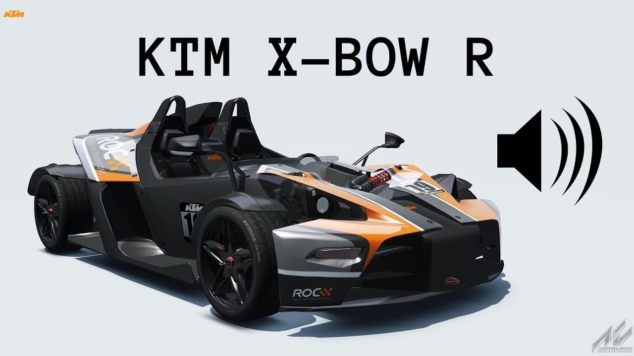 All Types ktm x-bow specs : Assetto Corsa Sound: KTM X-BOW R - YouTube