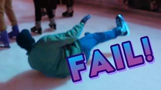 ICE SKATING FALLS AND FAILS!!!