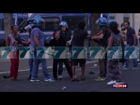 QINDRA EMIGRANTE PERPLASEN ME POLICINE NE ROME - News, Lajme - Kanali 7