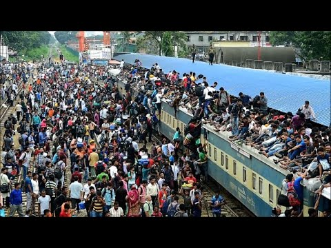 Bangladesh: Eid Holidaymakers Start Leaving Dhaka En Masse  | AFP