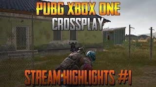 Crossplay Stream Highlights #1 - PUBG XBOX ONE Gameplay - PlayerUnknown's Battlegrounds XB1 Español