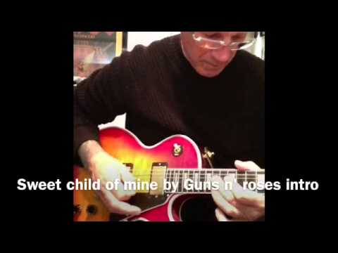 Sweet child of mine by Guns n' roses intro - YouTube